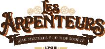 LES ARPENTEURS, BAR, MYSTERES ET JEUX DE SOCIETES